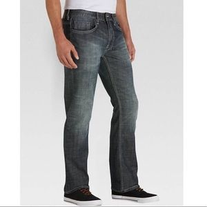 Buffalo David bitten driven straight denim jeans